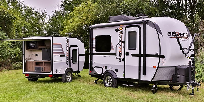 Ultra-Lite Travel Trailers Under 2000 lbs for Sale